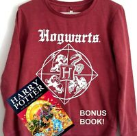 Harry Potter Hogswarts Jumper & Harry Potter and the Deathly Hallows book
