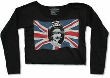 Sex Pistols God Save The Queen Juniors Cropped Long Sleeve Shirt New Official