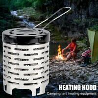 Portable Heater Stove Gas Warmer Heating Cover Equipment for Outdoor Camping Kit