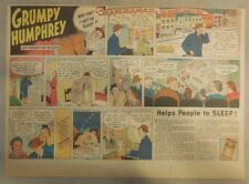 "Ovaltine Drink Ad: ""Grumpy Humphrey !""  from 1930's-1940's 11 x 15 inches"
