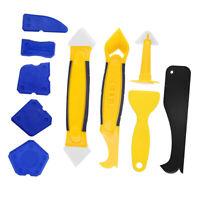 10X Silicone mastic outil calfeutrage Kit pour salle de bain cuisine plancher
