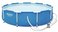 Bestway 24H 12ft Bomba de Filtro Acero Promax piscina 366 X 30 pulgadas 76cm 56681
