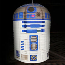 Official Star Wars R2 D2 Paper Lamp Shade Light Novelty Bedroom Lampshade