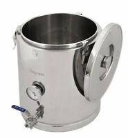 Chapman Brewing Equipment ThermoBarrel Fully Insulated Stainless Steel Mash Tun