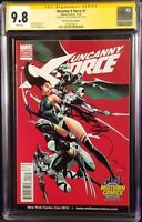 X-FORCE #1 CGC SS 9.8 J SCOTT CAMPBELL VARIANT DEADPOOL WOLVERINE PSYLOCKE X-MEN