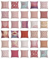 Coral Throw Pillow Cases Cushion Covers Home Decor 8 Sizes Ambesonne