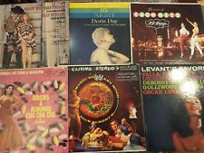 LOT: 6 VINTAGE LP RECORD COVERS ONLY CHEESECAKE EXOTICA MID CENTURY