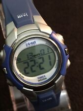 Timex T5G891 Wrist Watches For Women,beautiful Grey/Blue Case Water Resistant 50