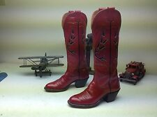 CLASSIC TALL USA RED NOCONA LEATHER WESTERN COWBOY DANCE BOOTS SIZE 6.5 B