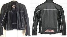 Harley Davidson Leather Jacket Reflective Perforated ATMOSPHERE 97080-06VW LARGE