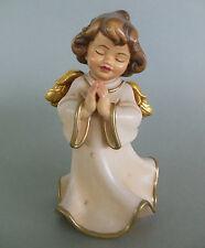 Engel betend ca. 13 cm hoch, Holz geschnitzt bemalt, Taufgeschenk, Weihnachten
