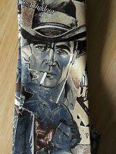 Humphrey Bogart Mens Silk Tie The Oklahoma Kid Movie Cowboy Hand Made