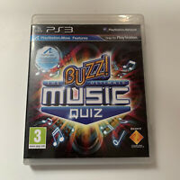 PS3 Game - Buzz The Ultimate Music Quiz - Tested - Full Working Condition
