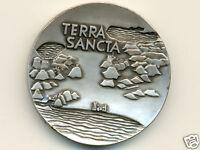 Israel State Medal:Silver-Plated * Terra Sancta * 1963