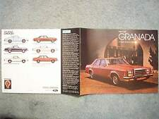 1980 FORD GRANADA BROCHURE – ESS, GHIA - A modern American Classic