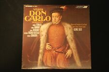 Verdi Don Carlo Highlights FFRR~1967 Decca London Classical~FAST SHIPPING!!!