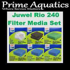 JUWEL RIO 240 COMPLETE FILTER MEDIA SET L 6.0  NEW BOXED