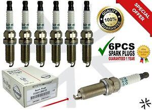 6PCS NEW Denso Spark Plugs FIT FOR NISSAN INFINITI 22401-JK01D FXE24HR11 3457