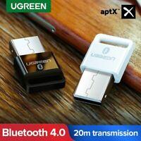 UGREEN USB Bluetooth 4.0 Adapter Aptx Drahtloser Dongle Empfänger für Headset PC