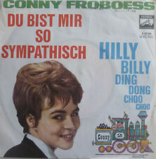 """7"""" 1963 CONNY FROBOESS Du bist mir so sympatisch MINT-?"""
