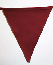 West Ham bunting colours ** 10 mtr ** Claret and blue flags