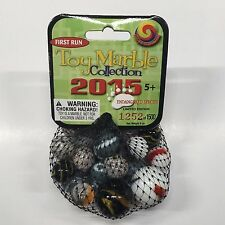 2015 Mega Marbles Toy Marble Collection mesh bag