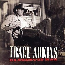 FREE US SHIP. on ANY 2 CDs! ~Used,VeryGood CD Adkins, Trace: Dangerous Man