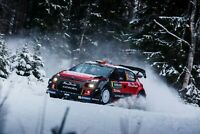 A1 | Winter Rally Poster Art Print 60 x 90cm 180gsm Drift Car Men's Gift #12306