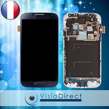 Ecran vitre complet sur chassis pour Samsung Galaxy S4 i9500 noir