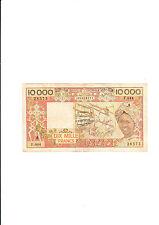 billet de 10000 francs de l'afrique de l'ouest état occasion voir photo