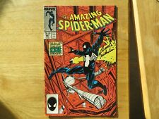 1987 AMAZING SPIDER-MAN # 291 BLACK COSTUME SIGNED BY DAVID MICHELINIE, WITH POA