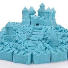 100G Blue Coloured Magic Sand Never Dry Moving Colour Play Sand Kids Toys