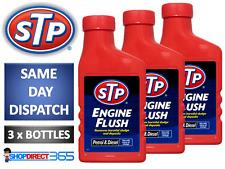 3 x STP Engine Flush 450ml For Petrol Or Diesel Engines Oil Flushing Additive