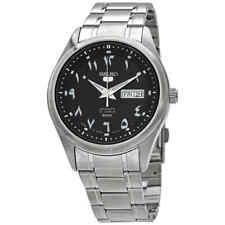 Seiko 5 Automatic Black Dial Men's Watch SNKP21J1