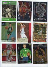 9 NBA Inserts/Paralells; Hassan Whiteside, Kyle Lowry, Tracy McGrady, Dan Dickau