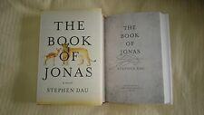 Signed The Book of Jonas Stephen Dau 1/1 HC DJ Muslim War Orphan Novel Soldier