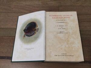 Freshwater Tropical Aquarium Fishes Hardcover Book