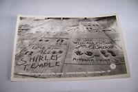 Rare Vintage RPPC Real Photo Postcard 1930-1950  California Shirley Temple Hands