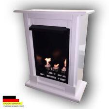 Bio Ethanol Fireplace Chimney Fire Place Camino Chimenea Firegel Milano White