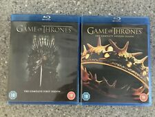 Game of Thrones Season Series 1 & 2 / One & Two / First & Second Blu-ray