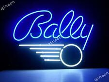 """17""""X14"""" Bally Pinball Arcade Game Room Real Glass Neon Light Sign FAST SGIPPING"""