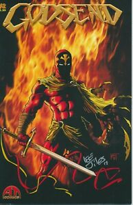 GODSEND #2 SIGNED BY LEE JILES ABOUT TIME COMICS 2013 EB203