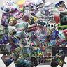 20 Sheets Flash Stickers Skateboard Sticker Graffiti Laptop Car Luggage Decals