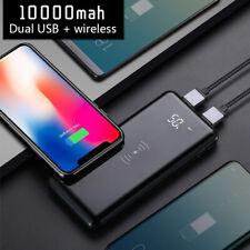 Tragbar 10000mAh Powerbank Wireless induktives Aufladen Power Bank Qi Ladegerät