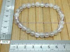 Bracelet AMETHYSTE perles 6mm - importation USA - pierre naturelle reiki strech