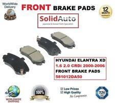 per Hyundai Elantra XD 1.6 2.0 CRDi 2000-2006 PASTIGLIE FRENI ANT Set 581012DA50