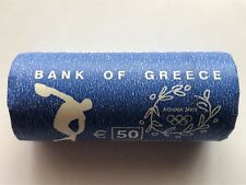 Greece Grece Greichenland Greek 2 euro coin 25 pcs roll Olympic Games 2004UNC BU