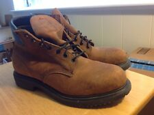 RED WING 4450 SAFETY WORK BOOTS,OIL TANNED LEATHER,STEEL TOE