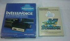 Intellivision Intellivoice Voice Synthesis Module & B-17 Bomber Talking Game