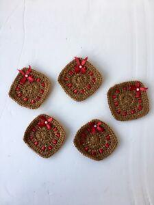 Gringo Fairtrade Set of 5 Square Coasters